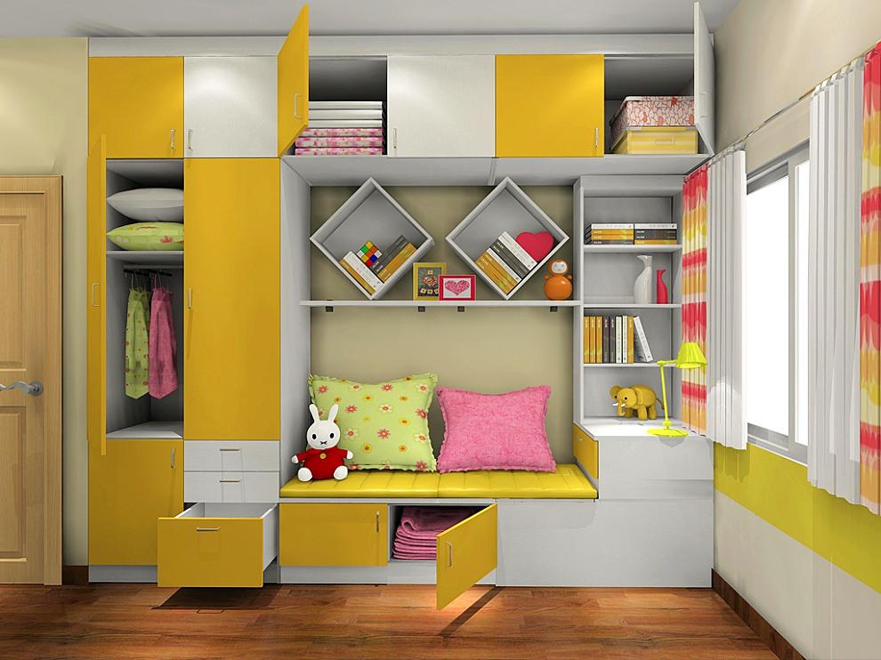 书房/儿童房整体定制 电脑桌