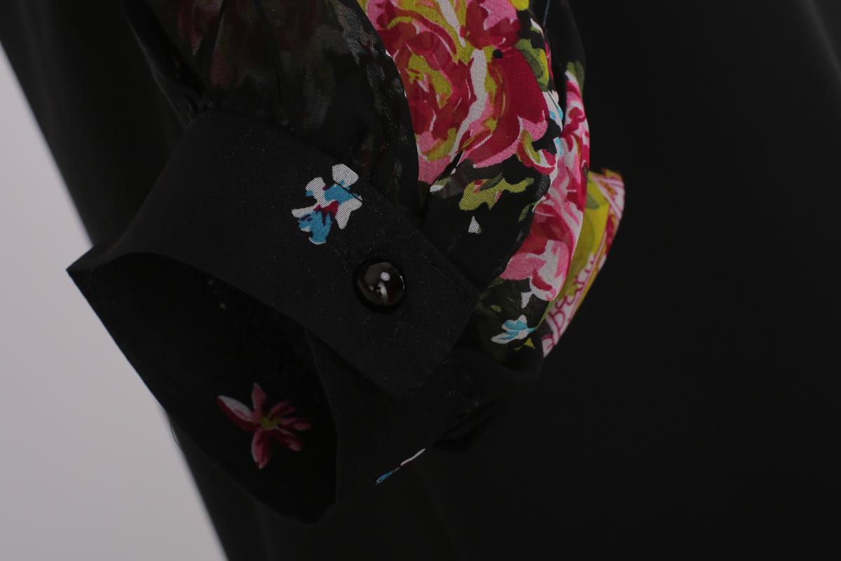 2014新款小清新森林系公主风手绘花朵灯笼袖连衣裙b303ad33#6355 米