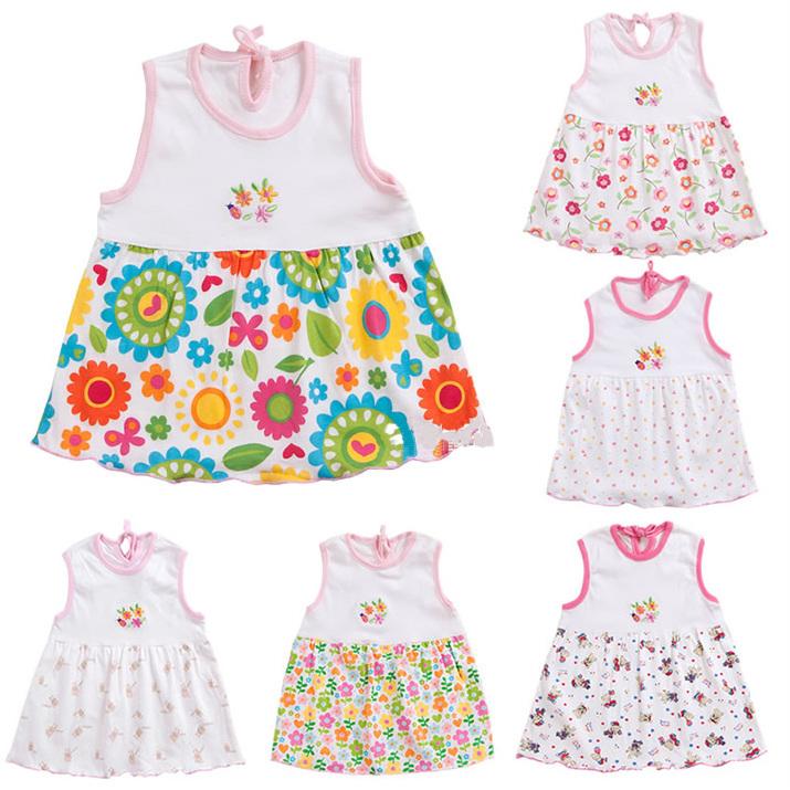 杰斯卡童装女宝宝连衣裙 婴幼儿连衣裙 宝宝背心裙 无袖 吊带裙 婴儿