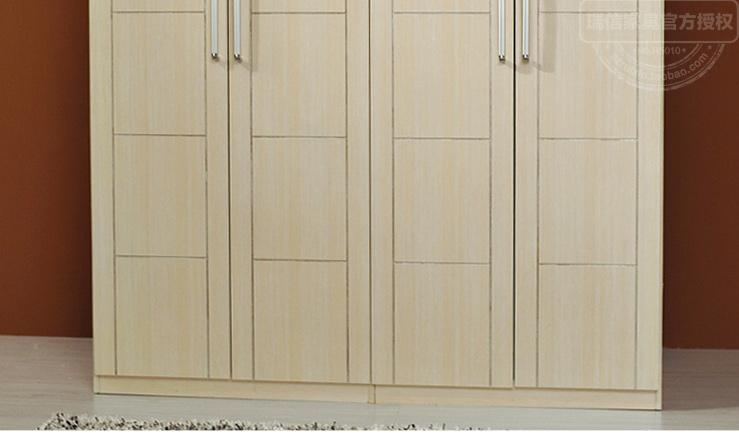 推拉门衣柜 板材衣柜 木质整体衣柜