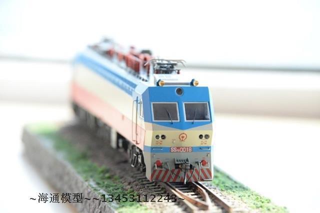 年模型火车模型~图纸格式~韶山7D电力机车模机加工礼物猩猩图片