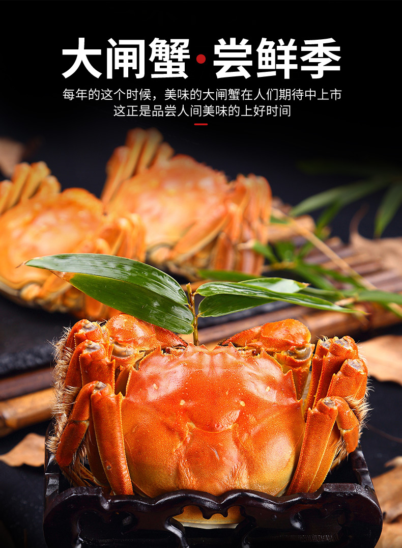 大闸蟹尝鲜季每年的这个时候,美味的大闸蟹在人们期待中上市这正是品尝人间美味的上好时间-推好价 | 品质生活 精选好价
