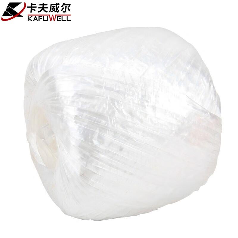 Kraft Weir Nylonseil Gebundenes Verpackungsseil Kunststoff Rip Seil Gebundenes Seil Rip Band Verpackung Seil Stroh Ball Seil Dichtungsband Weiß 150g YJ3512