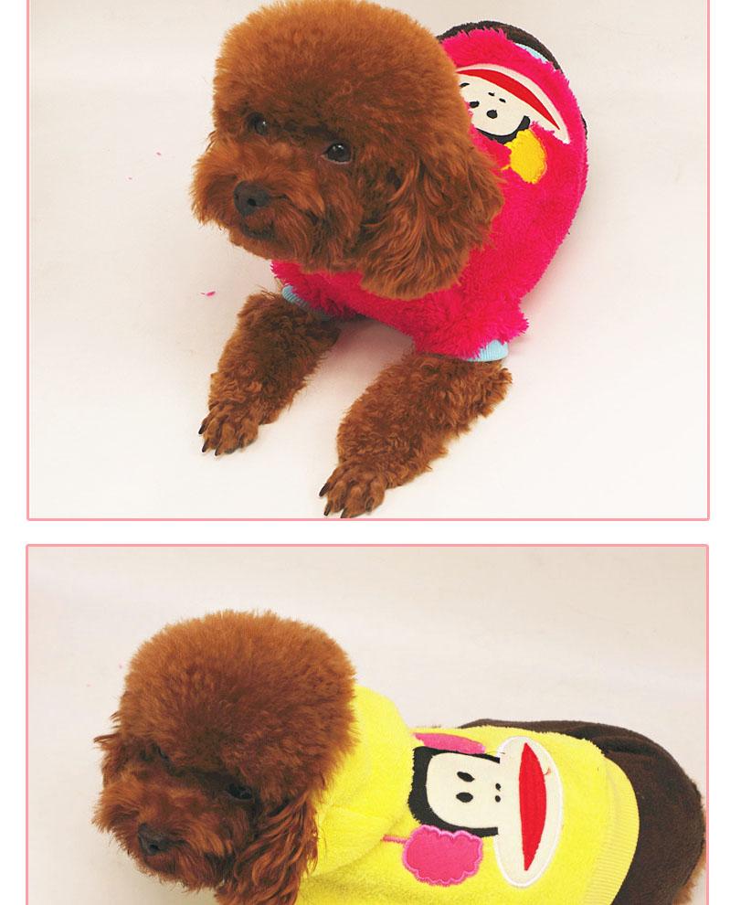 宠物用品 泰迪狗狗衣服秋冬加绒卡通小型犬比熊吉娃娃