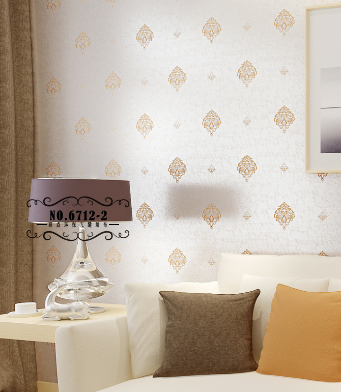 幕点无缝墙布 现代简约欧式 北欧客厅卧室满铺壁布 高档酒店无缝热胶图片