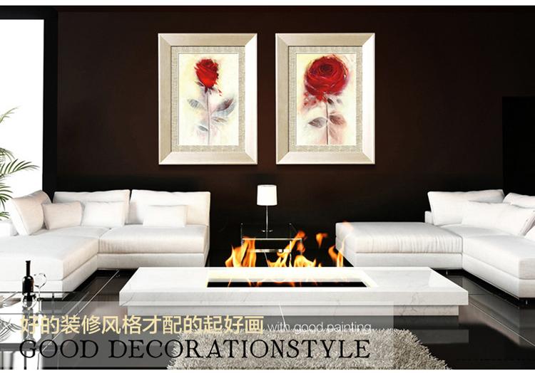 装饰画现代欧式客厅餐厅卧室墙画饰画有框画壁画挂画
