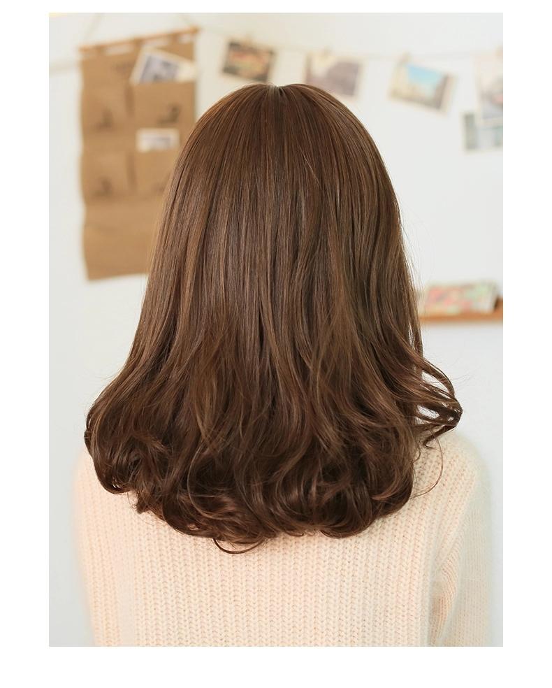 金凯丽假发 45cm 梨花头假发短发女时尚中长发蓬松齐图片