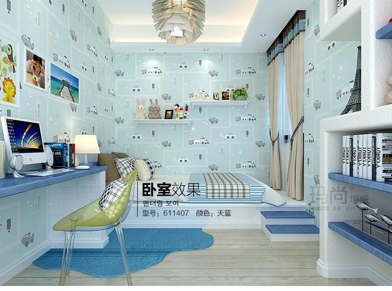 男女孩房间卧室设计图展示