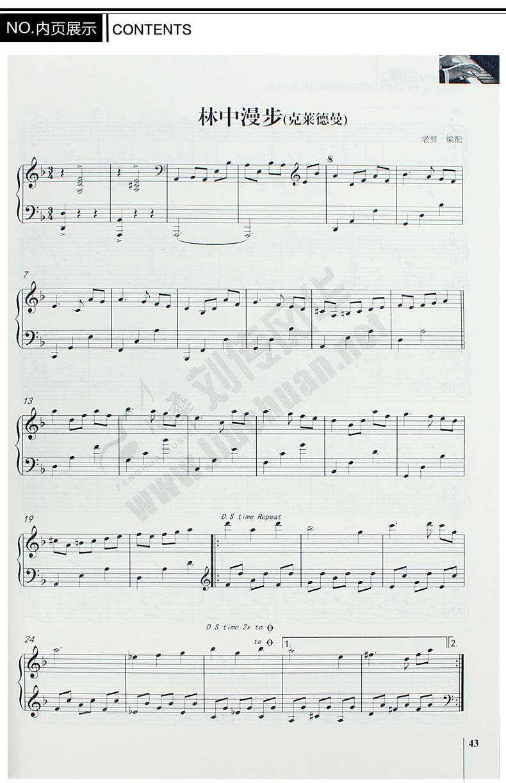 2015正版钢琴曲谱大全超炫流行钢琴谱流行歌曲钢琴乐谱书包邮(790x