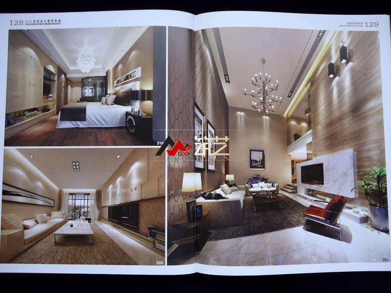 2015室内设计模型集成 简欧风格家居 简约欧式轻奢别墅豪宅样板房装修图片