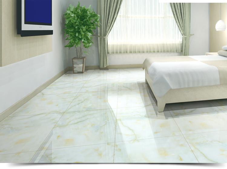 宝润陶瓷 客厅地砖 防滑卧室全抛釉地板砖 佛山瓷砖家装建材品牌 翡翠