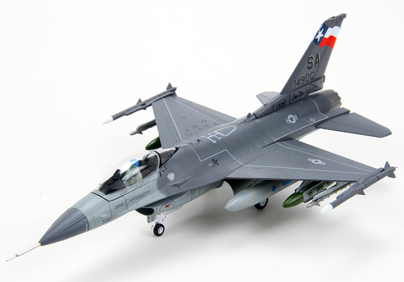 特尔博1:72f16美式战斗机飞机模型 仿真合金 航模军事