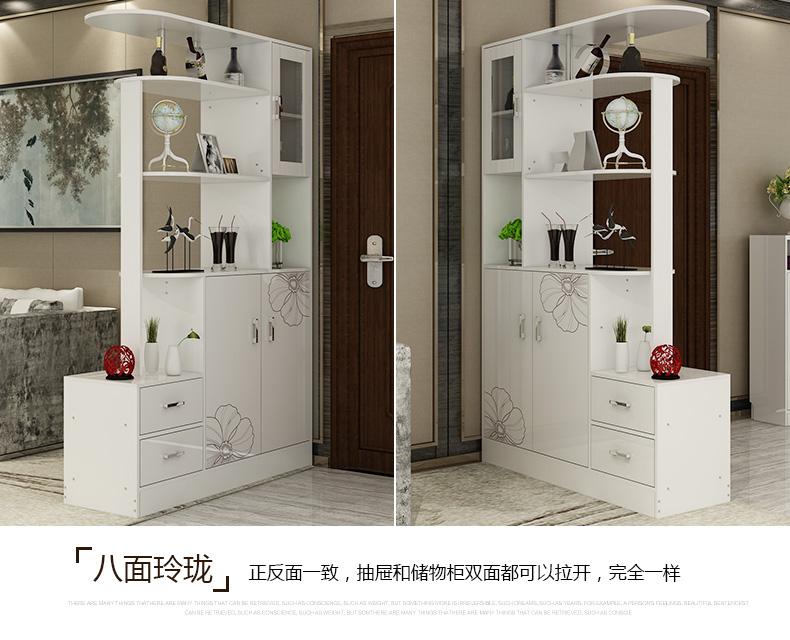 求大师赐客厅隔断柜和玄关鞋柜设计效果图-好看的进门玄关鞋柜效果图?