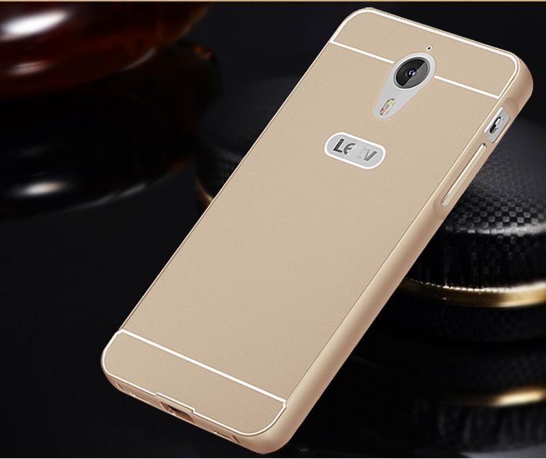 more case 手机壳/保护套 金属边框背壳 适用于乐视手机1/x600 蓝色