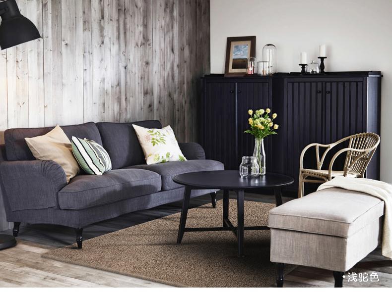 茶几地毯客厅简约现代卧室地毯纯色床边地毯沙发欧式