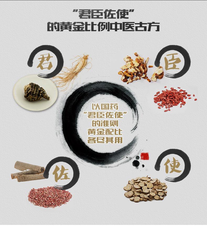 白云山铁玛咖 人参黄精固体饮料 2g 10 秘鲁进口玛卡 含人参 黄精 玛卡