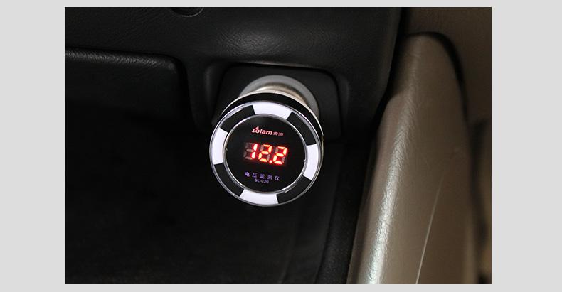 汽车点烟器双usb一拖二通用智能手机车充头 黑色送苹果5线
