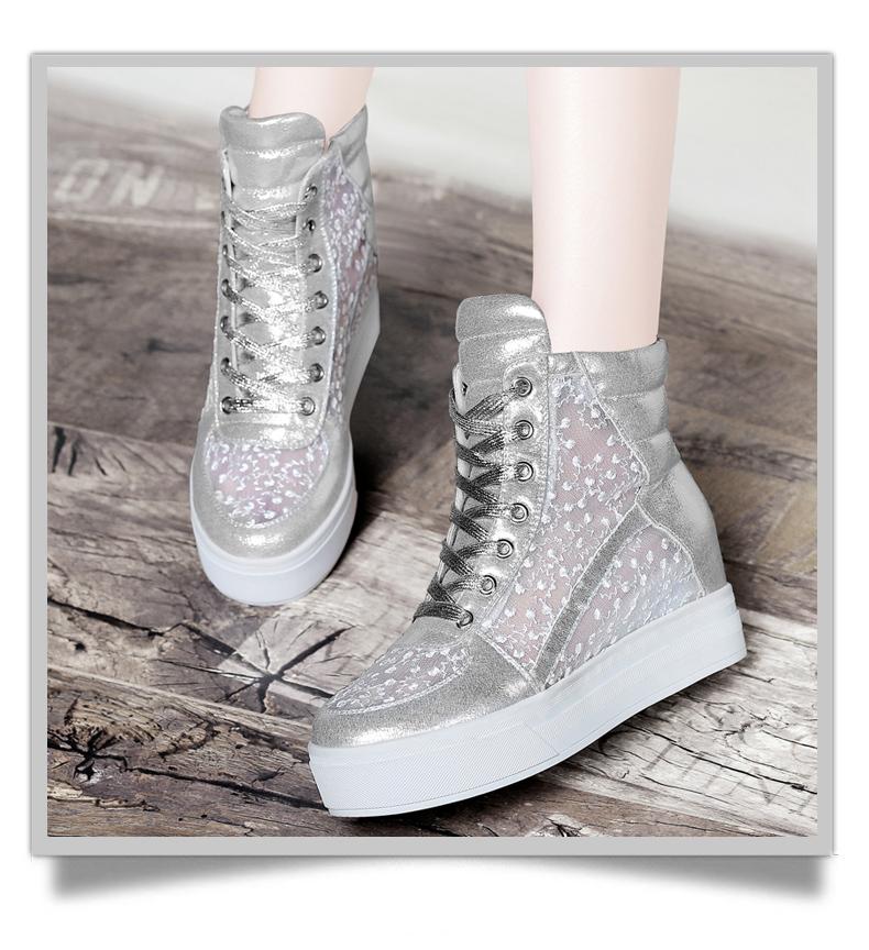 2015春季新款内增高鞋女士厚底休闲鞋女鞋