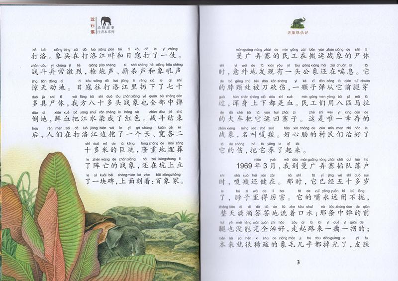 2017新 沈石溪激情动物小说 老象恩仇记 美绘版 小学生青少年版课外书