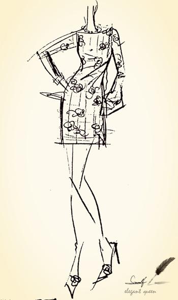 大促【货到付款】梓彤2014春夏装连衣裙长袖 连衣裙 包臀裙子 修身