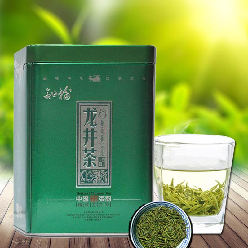 知福 龙井茶150g 2015雨前龙井茶叶 绿茶