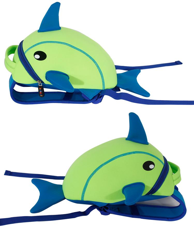 卡卡希可爱海豚儿童书包 超轻双肩 幼儿宝宝背包 减负护脊 开学季