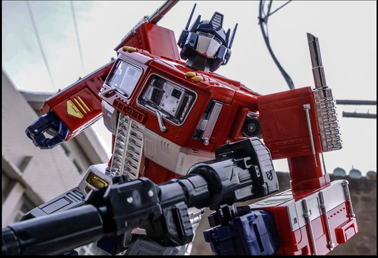 陆霸 威将合金放大版mpp10擎天柱变形金刚汽车机器人收藏模型玩具摆件