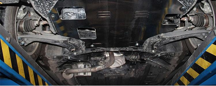 本田xr-v xrv 缤智发动机下护板图片