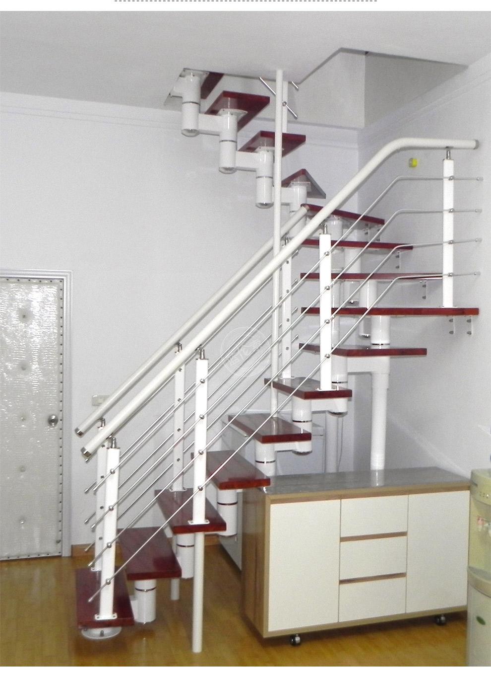 钢木楼梯/室内楼梯/旋转楼梯/阁楼楼梯/整体楼梯 每踏