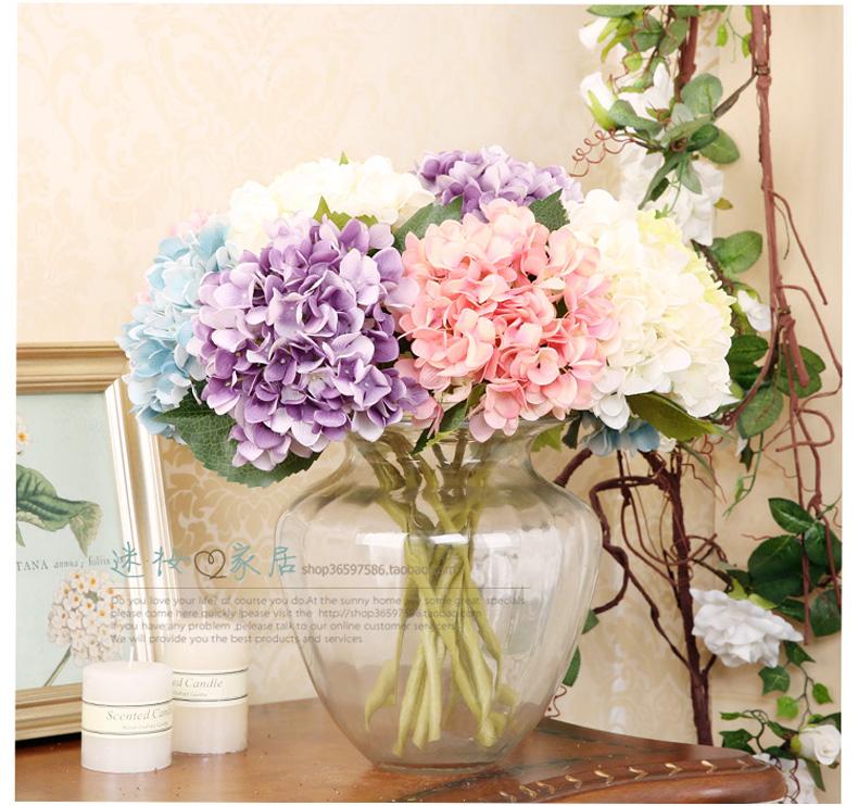 迷·妆 美式克洛伊玻璃花瓶 简约现代客厅桌面插花摆件 创意可水培花图片