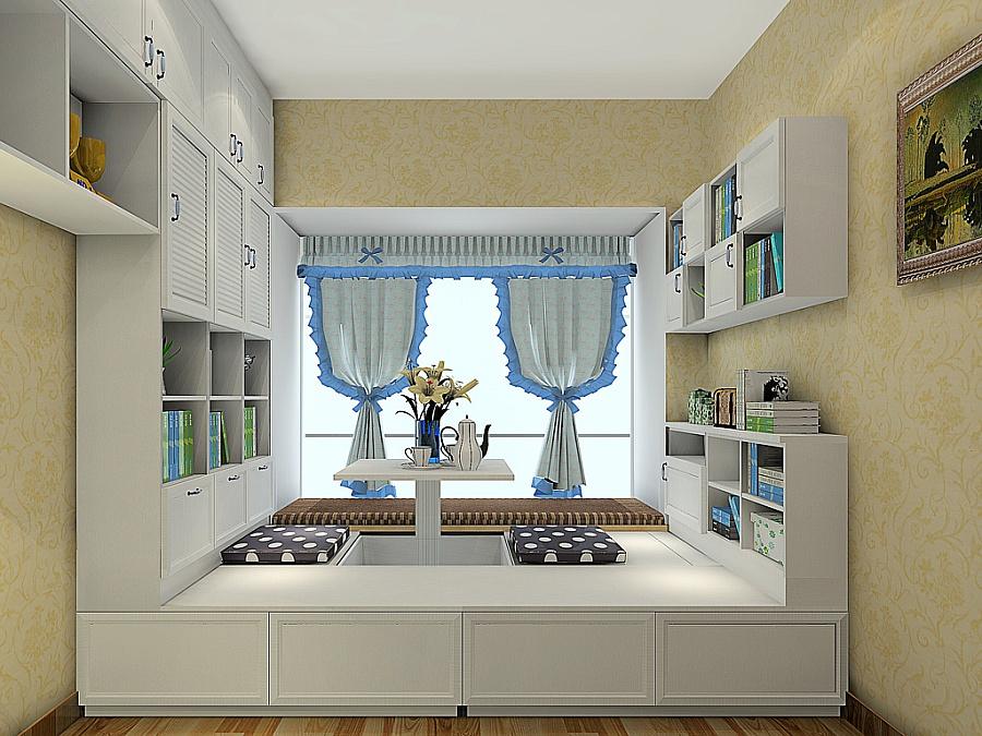 尚品宅配 全屋家具定制 书柜 书架 榻榻米 卧房家具18图片