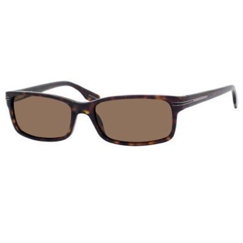 dark polarized sunglasses  dark havana lens color