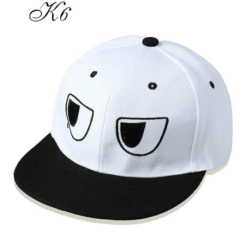k6 2015新款潮男士棒球帽韩版时尚潮流卡通跑男陈赫同款 嘻哈平沿男女