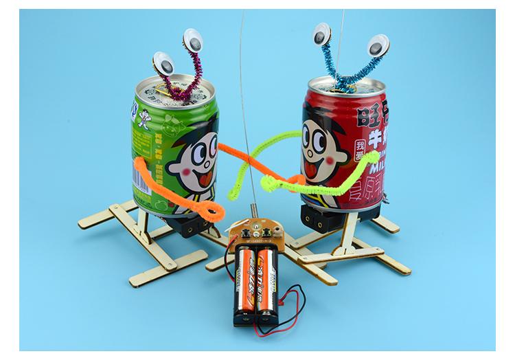 探梦 遥控旺仔易拉罐机器人 废物利用环保365bet网上娱乐_365bet y亚洲_365bet体育在线导航创意diy