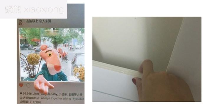 骁熊instagram相框手持拍照道具ins网红朋友圈拍摄婚礼生日活动定制框