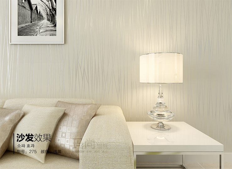 无纺布壁纸 卧室满铺客厅电视背景墙墙纸