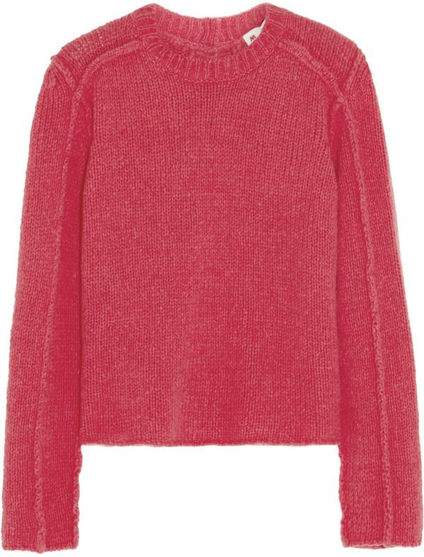 针织毛衣背面手绘图
