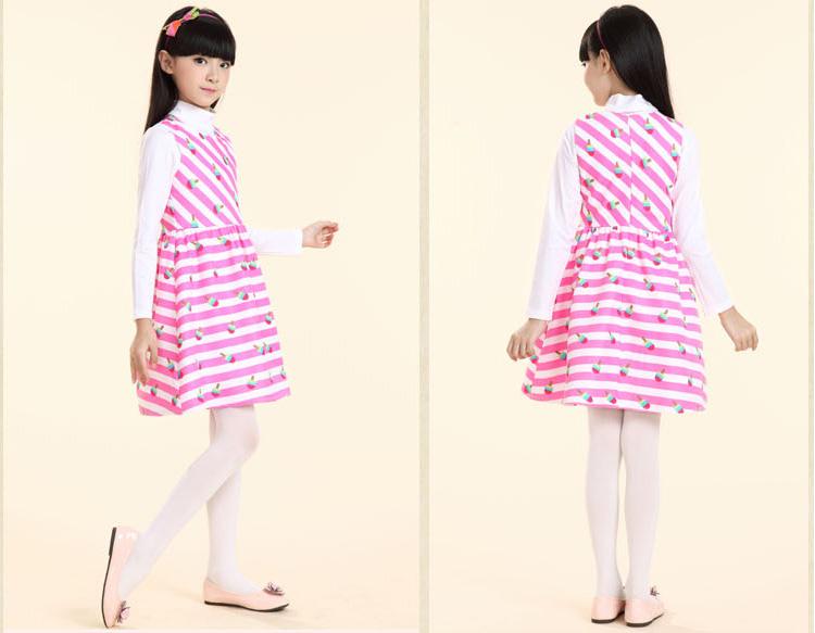 布布发现2016童装新款女童连衣裙原创设计无袖儿童裙