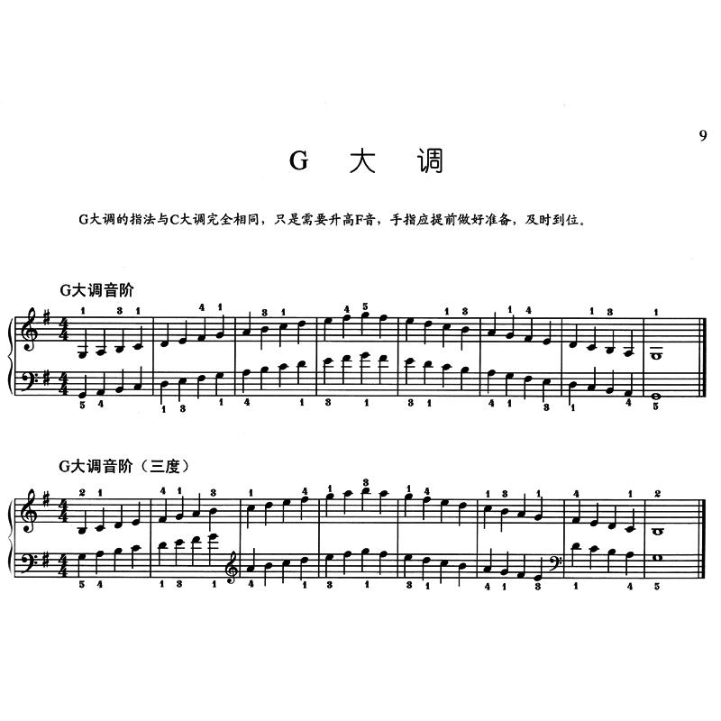 f小调  b大调  g#小调  db大调  bb小调  gb大调  eb小调  《钢琴音阶图片