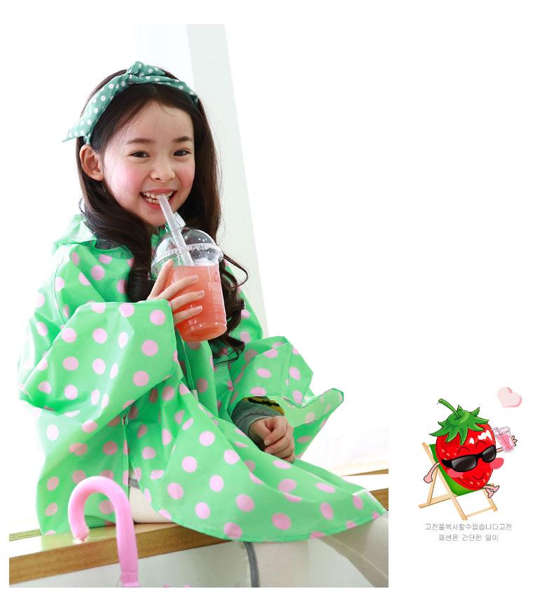 韩国公主儿童雨衣雨鞋套装女童学生小孩雨鞋宝宝水鞋