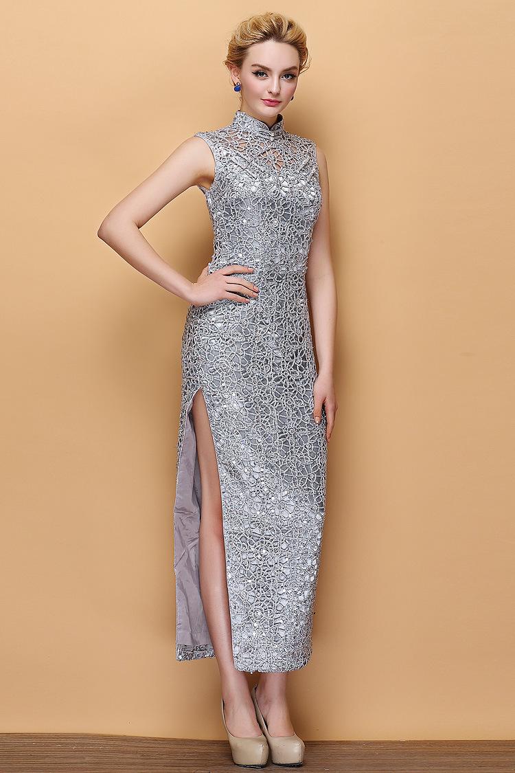 00 kork-ease2014新款中国风时尚民族风精致改良旗袍裙优雅气质9903