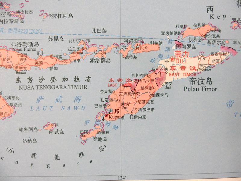 印度尼西亚地图