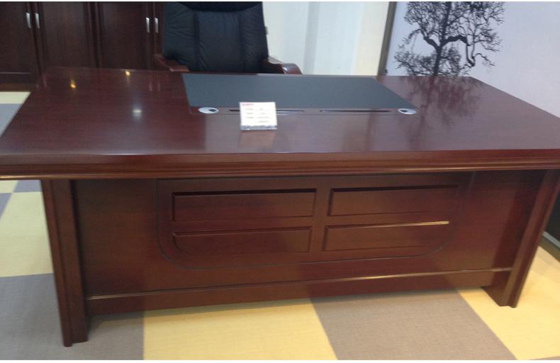 办公虎+大班台老板桌老板办公桌现代办公家具品牌进口家具高端图片