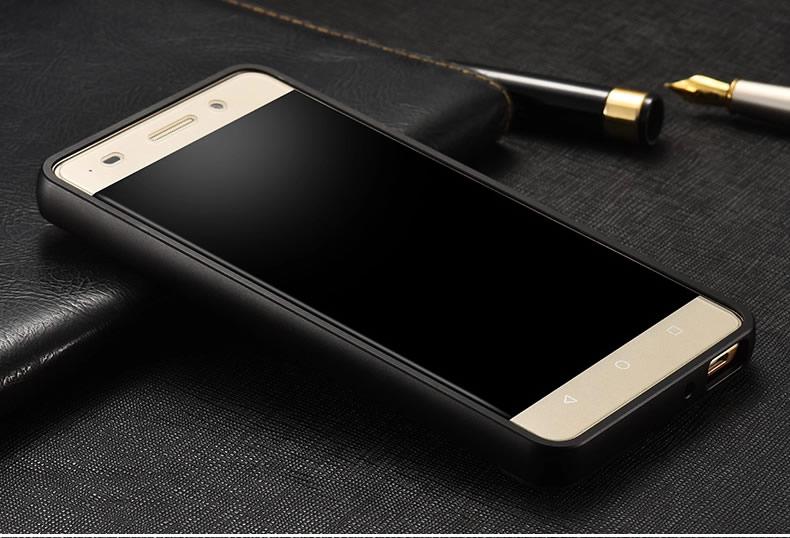 莫维斯 手机壳保护套金属边框外壳 适用于华为荣耀畅玩4c/c8818/全