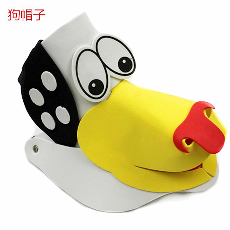 20g儿童节帽子遮阳帽子活动卡通动物头饰玩具十二生肖