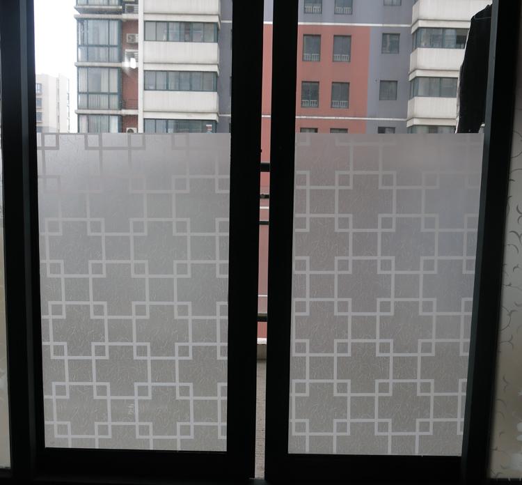 欧菲 玻璃贴膜磨砂窗户卫生间浴室移门玻璃贴纸防爆不