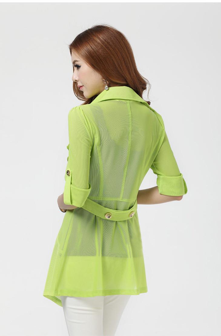 外套 浅绿色