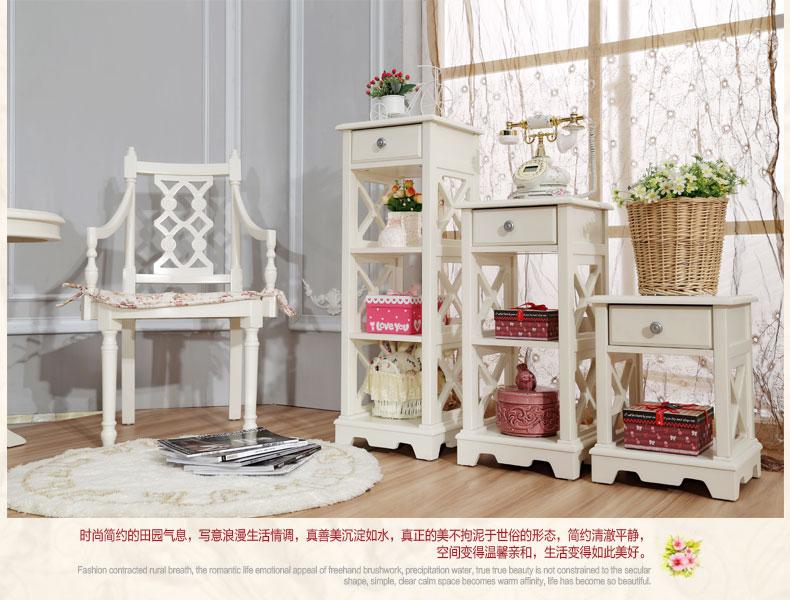 韩式花架 电话架 装饰架 欧式花架 花几 白色简易花架 特价 高花架图片