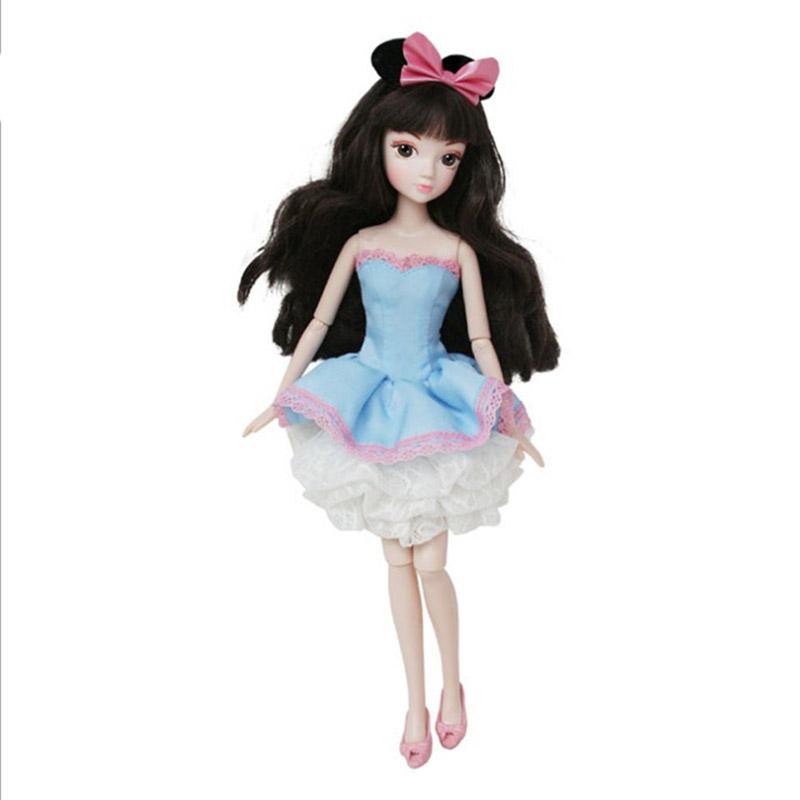 可爱甜美 芭比娃娃套装礼盒 洋娃娃女孩玩具关节体大礼盒生日礼物 1