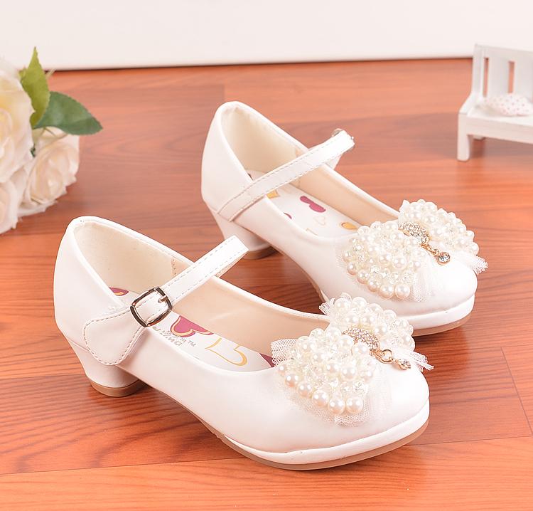 儿童皮鞋韩版女孩公主